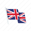 country, flag, great britain, kingdom, united icon