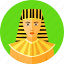 ancient, country, egyptian, national, nationality, pharaoh, traditional icon
