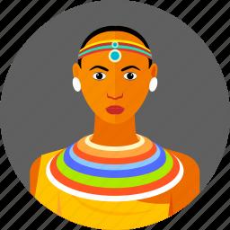 african, country, kenya, kenyan, national, traditional, women icon