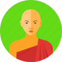 buddhism, friar, monk, religious, shaolin, tibet icon