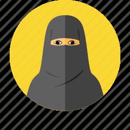 arab, arabia, arabian, hijab, muslim, saudi, women icon