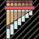 panpipe, music, instrument, folklore, traditional
