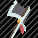 axe, tomahawk, weapon, tool, native