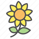 flower, flowers, plant icon