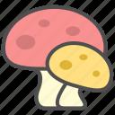 fungus, mushroom, plant icon