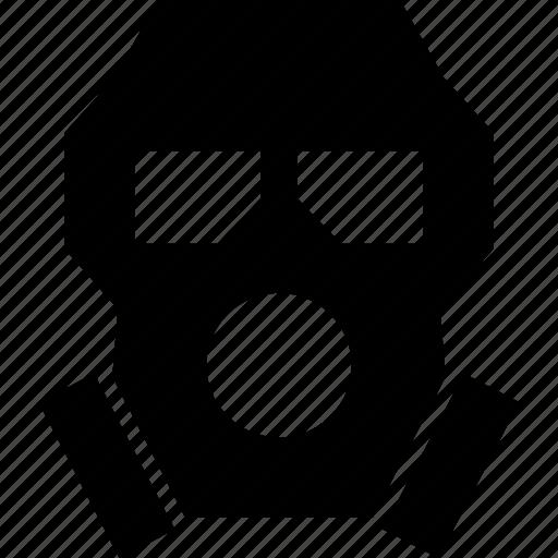 gas, mask, poison, respirator icon