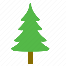 christmas, fir, forest, nature, tree, woods icon