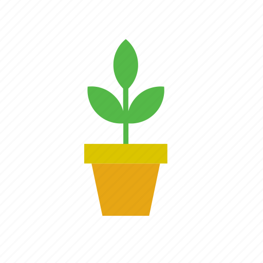 flowerpot, natural, nature, plant icon