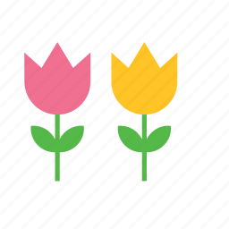 flowers, natural, nature icon