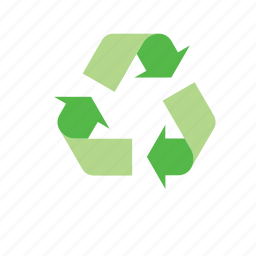 eco, environment, environmental, nature, recycle, recycling, sign icon