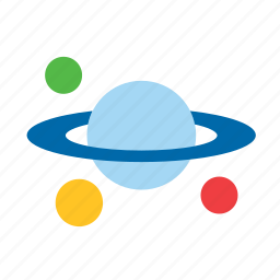 astrology, astronomy, nature, planet, planets, saturn icon