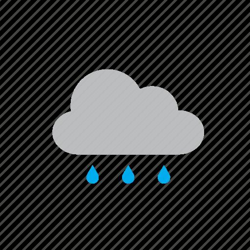 cloud, natural, nature, rain, rainy, weather icon