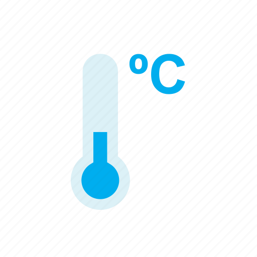 blue, celsius, cold, nature, temperature, thermometer, weather icon
