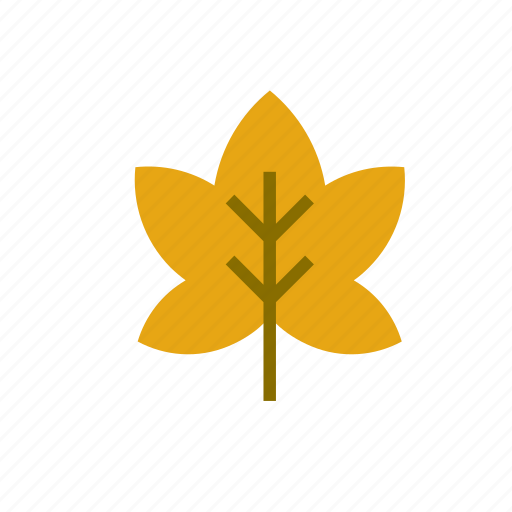 autumn, brown, leaf, natural, nature icon