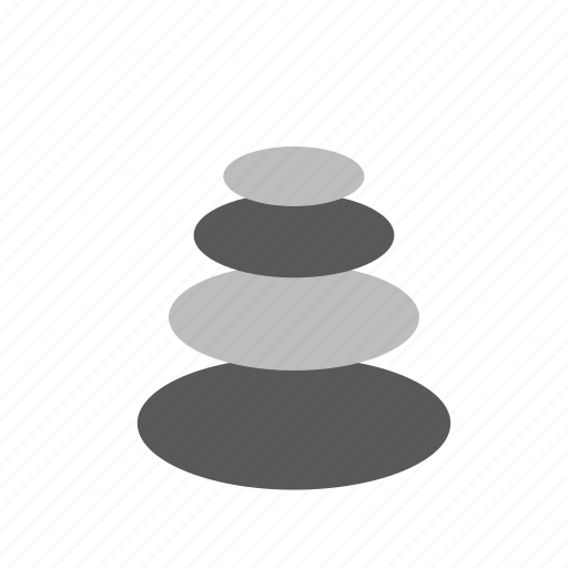 cairn, nature, pile, stack, stones icon
