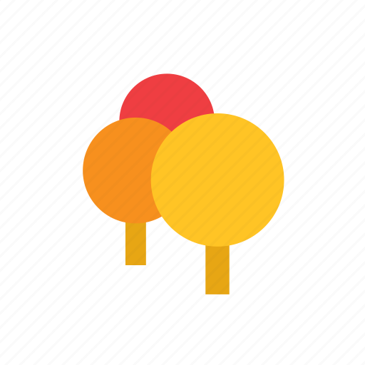 autumn, forest, natural, nature, tree icon