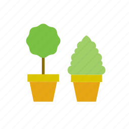 flowerpot, natural, nature, plant, tree icon