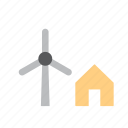 energy, farm, mill, nature, renewable, wind, windmill icon