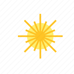 natural, nature, star, sun, weather icon