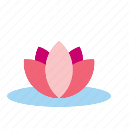 flower, natural, nature, plant, water icon