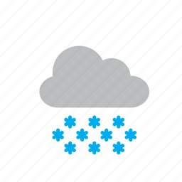cloud, nature, snow, snowflake, snowy, storm, weather icon