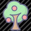 apple, nature, tree, vegetation icon