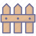 farm, fence, grange icon