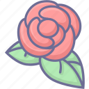 flower, natural, rose, vegetation icon