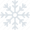 ice crystal, snow crystal, snowfall symbol, snowflakes, winters icon