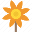 agriculture, crops, farming, helianthus, sunflower icon