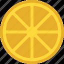 citrus food, healthy diet, lemon slice, lime fruit, organic fruit icon