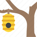 bee house, beehive, farming, insect life, nature icon