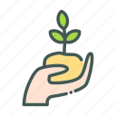 eco, ecology, hand, nature, organic