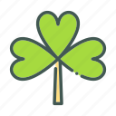 clover, eco, ecology, nature, organic icon