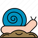 snail, insect, nature, ecology icon