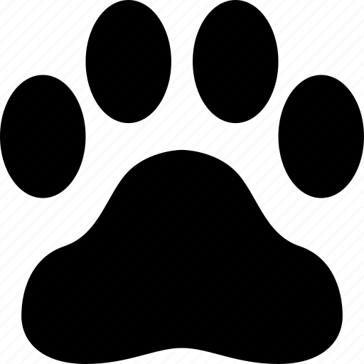 animal, dog, foot, footprint, paw, pet, print icon