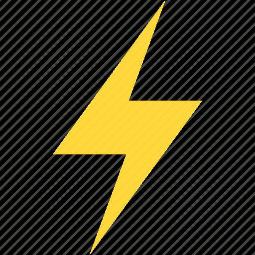charge, energy, lighting bolt, power, thunderbolt icon
