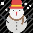 merry christmas, new year holidays, snow cartoon, snowman, winter season
