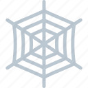 cobweb, horror trap, spider net, spider networking, spider web icon