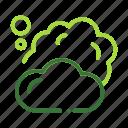 cloud, eco, ecology, nature, organic icon