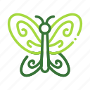 butterfly, eco, ecology, nature, organic icon