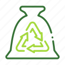 eco, ecology, nature, organic, recycle icon