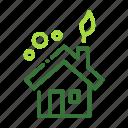 eco, ecology, house, nature, organic icon