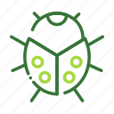 eco, ecology, insect, nature, organic icon
