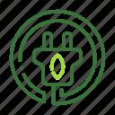 eco, ecology, nature, organic icon