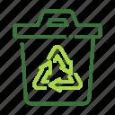 eco, ecology, nature, organic, rcycle icon