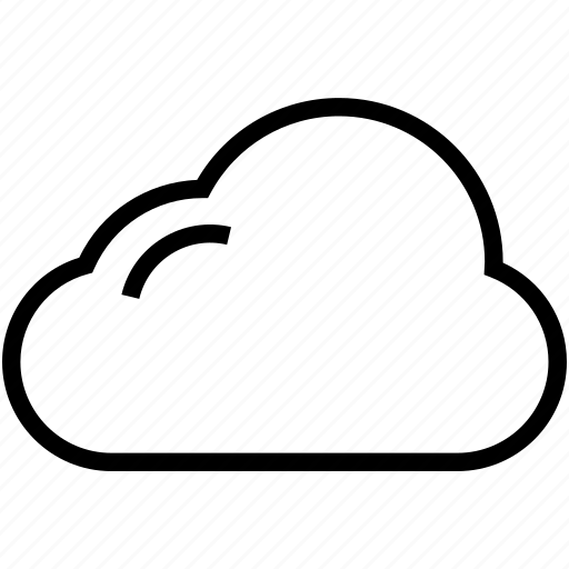 climate, cloud, forecast, puffy cloud, weather icon