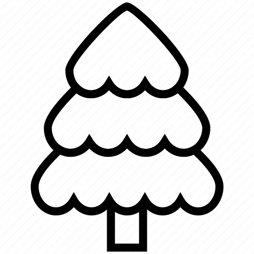 fir tree, forest, greenery, nature, tree icon