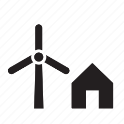 alternative, energy, nature, power, renewable, wind, windmill icon