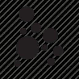 bubble, bubbles, circle, circles, nature, water icon